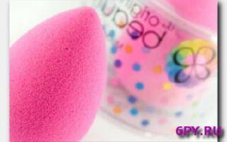 Статья. Спонж-яйцо для идеального макияжа – преимущества и нюансы использования бьюти-блендера