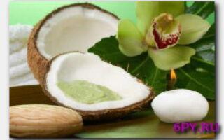 Статья. В чем польза кокосового масла для тела?