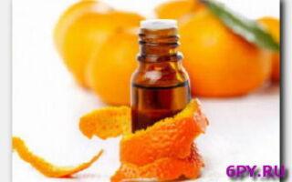 Статья. Польза апельсинового масла для лица