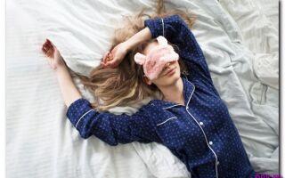 Как сон спасает от морщин-девять способов