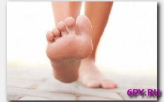 Статья. Грибок ногтей на ногах
