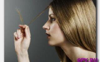 Статья. Маска для сухих волос