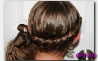 Статья. Косички на коротких волосах