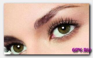 Красивые глаза-взгляд с поволокой