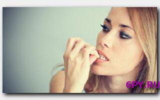 Статья. Про то, как избавиться от привычки грызть ногти: различные способы
