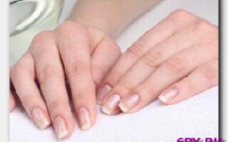 Статья. Как восстановить ломкие ногти