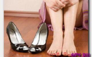 Что предпринимать если опухла нога в районе стопы