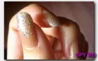 Статья. Блестящий дизайн ногтей