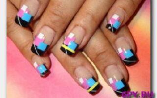 Статья. Как сделать рисунок на ногтях в абстрактном стиле: практическое руководство