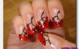 Статья. Рисунки на ногтях акриловыми красками: создаем самостоятельно