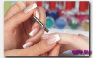 Статья. Коррекция ногтей
