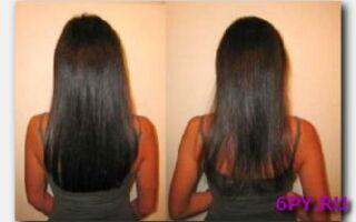 Статья. Биоламинирование волос