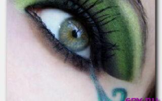 Статья. Макияж для зелёных глаз