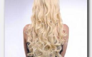 Статья. Искусственные волосы на заколках: говорим об уходе и использовании