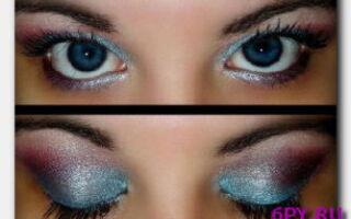 Статья. Как правильно делать макияж для голубых глаз?