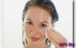 Устранение пигментных пятен на лице