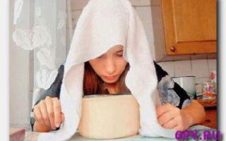 Щелочные ингаляции-как делать в домашних условиях