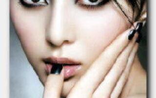 Статья. Выполнение темного макияжа: как, по каким правилам и чем его делать?