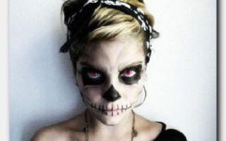 Статья. Готовимся к празднику: какие рисунки можно нарисовать на лице на хэллоуин?