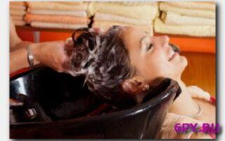 Статья. Смываем краску с локонов при помощи шампуня!