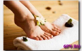 Статья. Правильный уход за кожей ног
