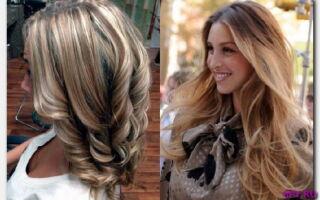 Статья. Покраска волос в два цвета