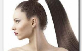 Статья. Как сделать объемный хвост, не прибегая к помощи парикмахера
