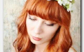 Статья. Прически, стрижки и укладки для медных оттенков волос