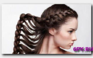 Статья. Греческая коса: стильно и очаровательно