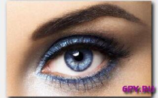 Статья. Основы красивого макияжа: выясняем, какие тени подходят к голубым глазам