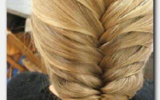 Статья. Как сплести косу «колосок» на коротких волосах