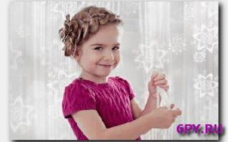 Статья. Причёска для маленькой девочки — используйте фантазию!