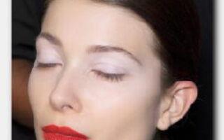 Статья. Как использовать белые тени в вечернем и повседневном make-up?