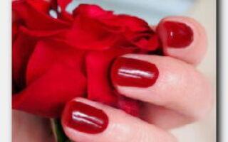 Статья. Маникюр с красным лаком: яркая классика для стильных женщин