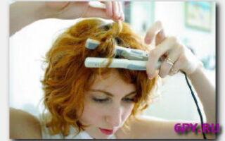 Статья. Как создать кудри при помощи утюжка на длинные волосы?