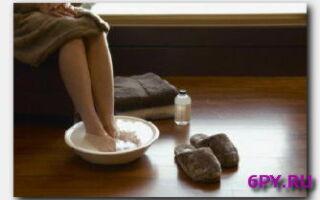 Статья. Ножные ванночки: жидкий «горчичник» в борьбе с гриппом и ОРВИ