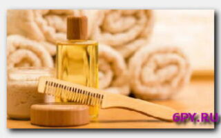 Статья. Как смыть репейное масло с волос?