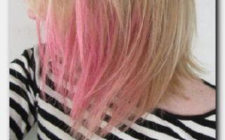 Статья. Временная краска для волос: как её правильно применять