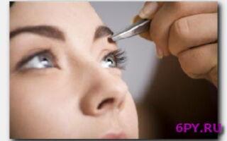Как правильно выщипывать брови-советы