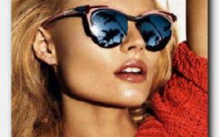 Статья. Солнцезащитные очки