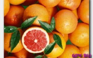 Эфирное масло грейпфрута-использование