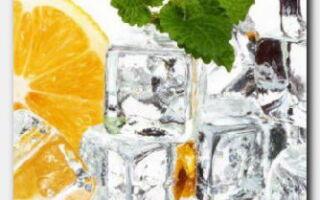 Статья. Косметический лед: полезная прохлада