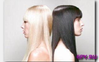 Статья. Как осветлить черные крашеные волосы: советы, рекомендации