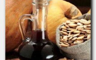 Статья. В чем польза тыквенного масла?