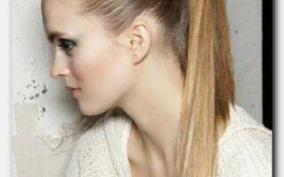 Статья. Стрижка «лисий хвост» на длинные, средние и короткие волосы