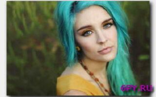 Статья. Бирюзовые волосы – модно и красиво