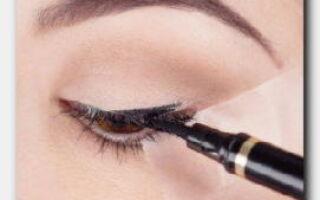 Статья. Что такое подводка-фломастер, как правильно красить глаза?